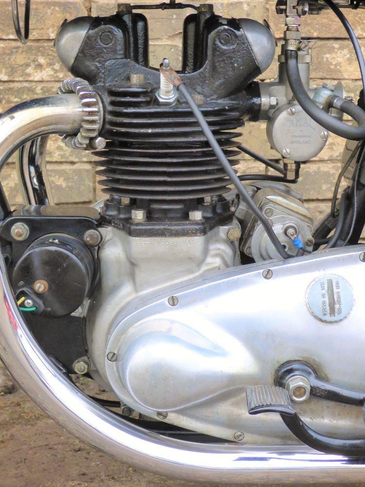 1951 Triumph 3T 350cc SOLD (picture 4 of 6)