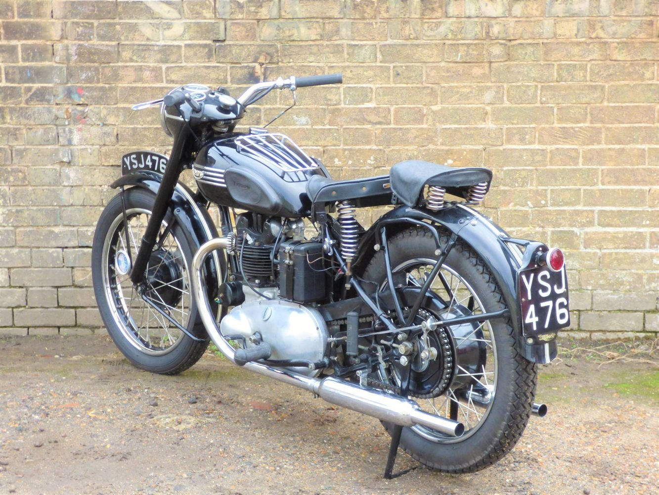 1951 Triumph 3T 350cc SOLD (picture 5 of 6)