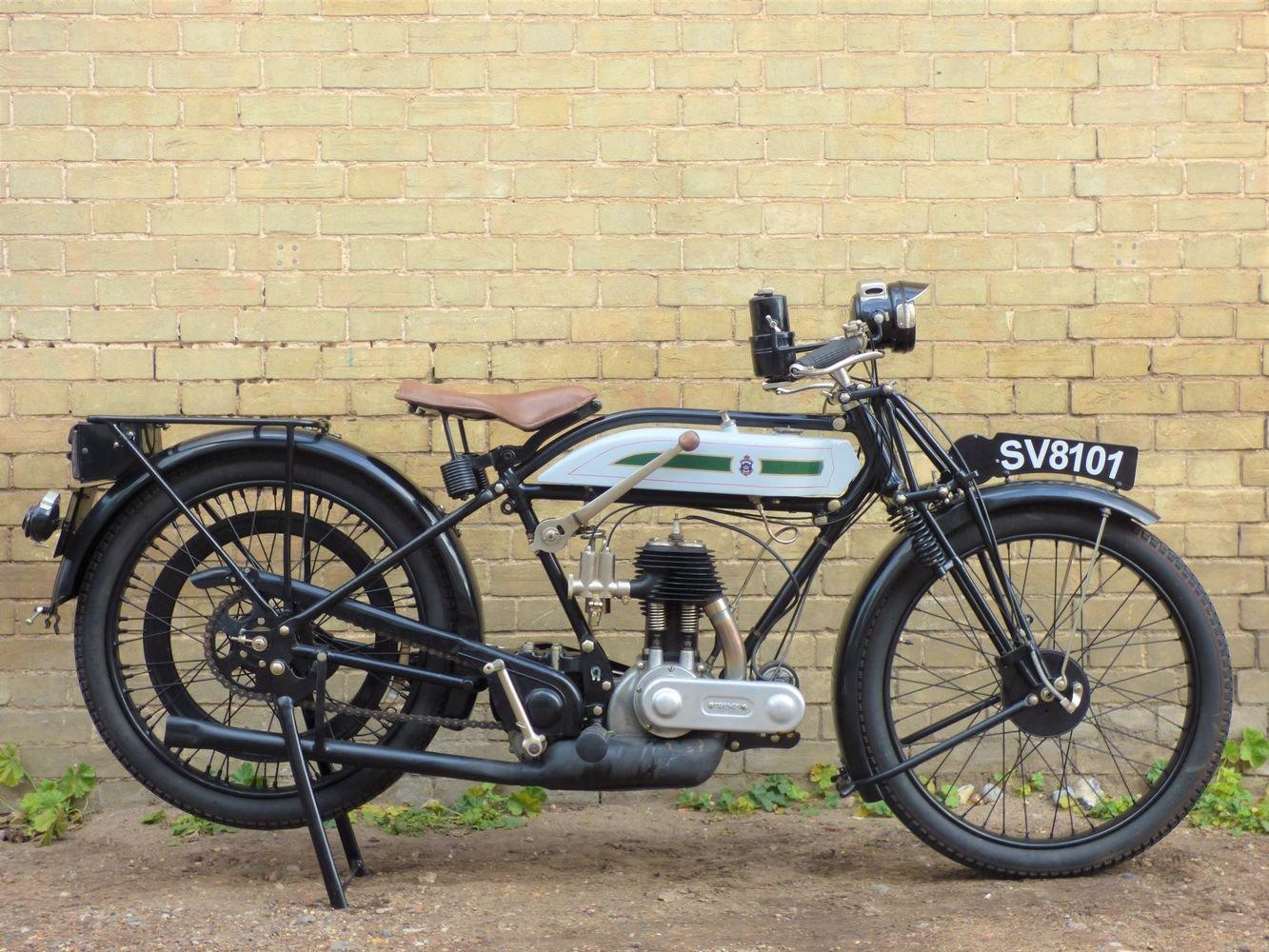 1925 Triumph Model P 500cc SOLD (picture 1 of 6)
