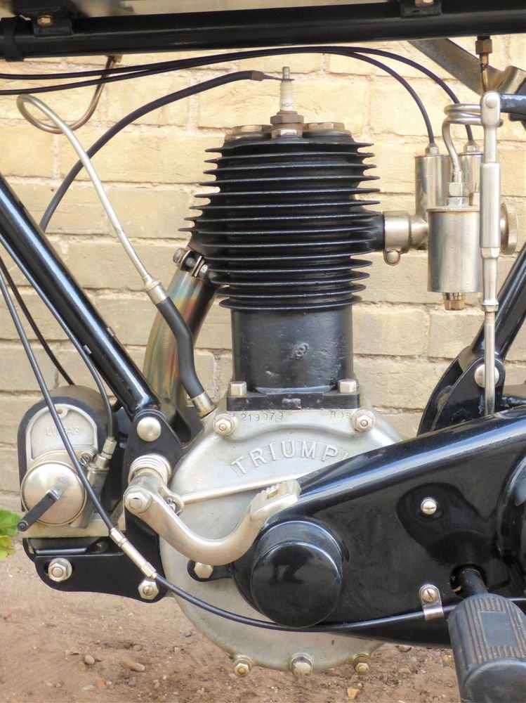 1925 Triumph Model P 500cc SOLD (picture 4 of 6)
