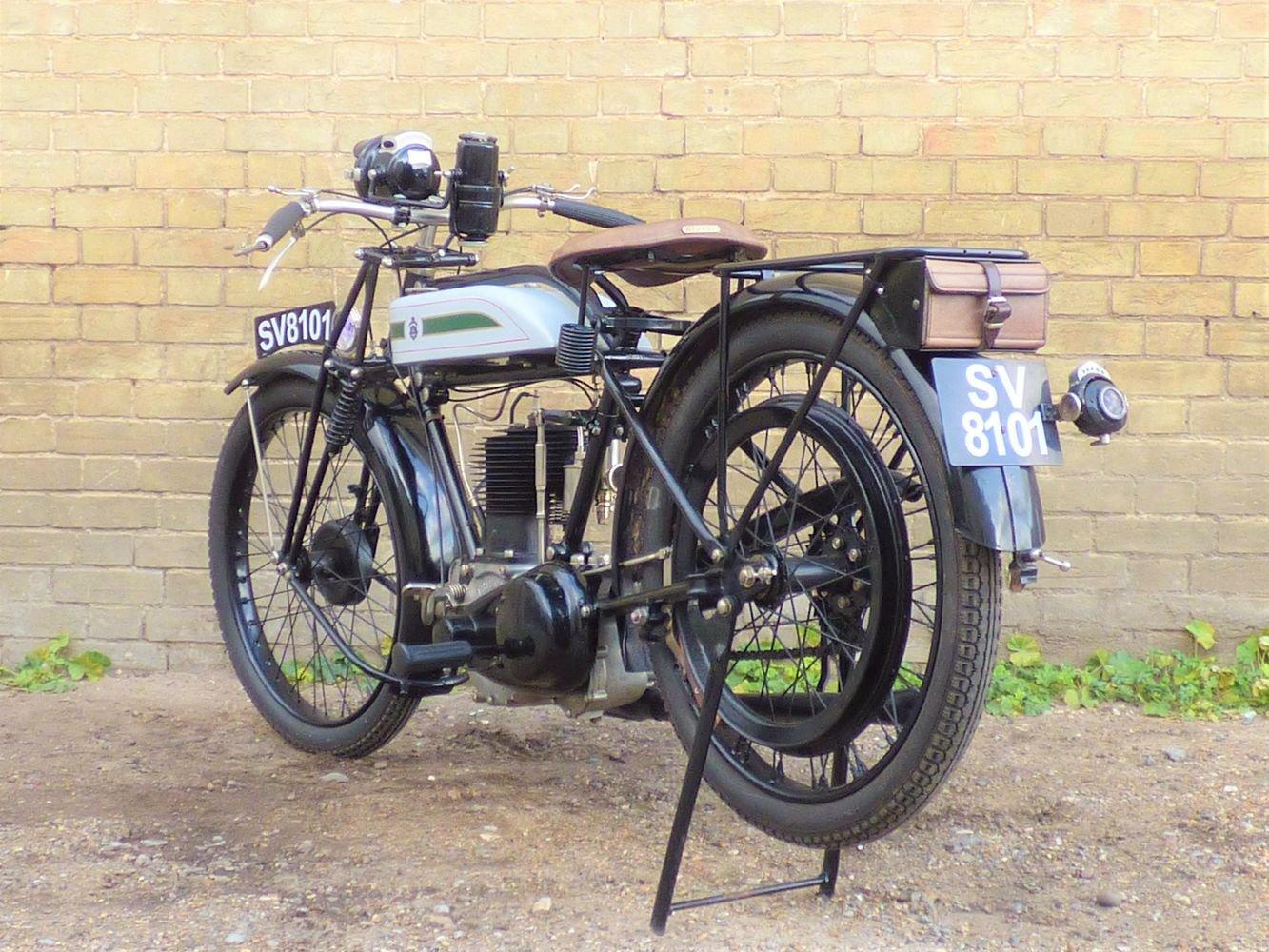 1925 Triumph Model P 500cc SOLD (picture 5 of 6)