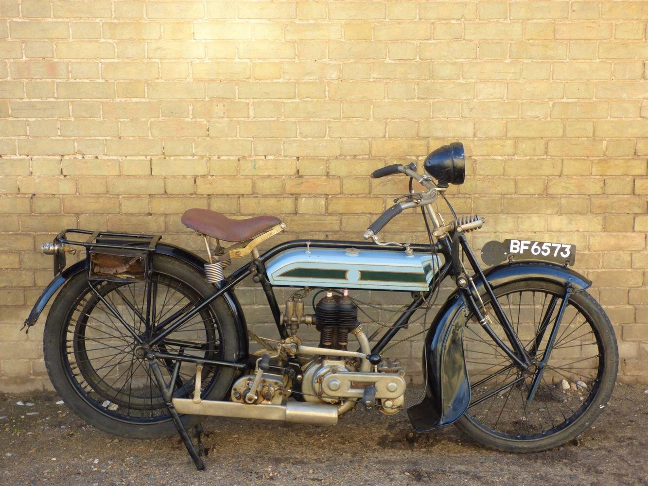 1924 Triumph Model H 550cc SOLD (picture 1 of 6)