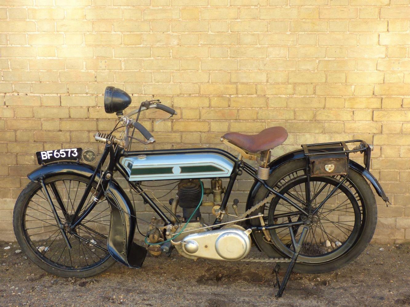 1924 Triumph Model H 550cc SOLD (picture 2 of 6)