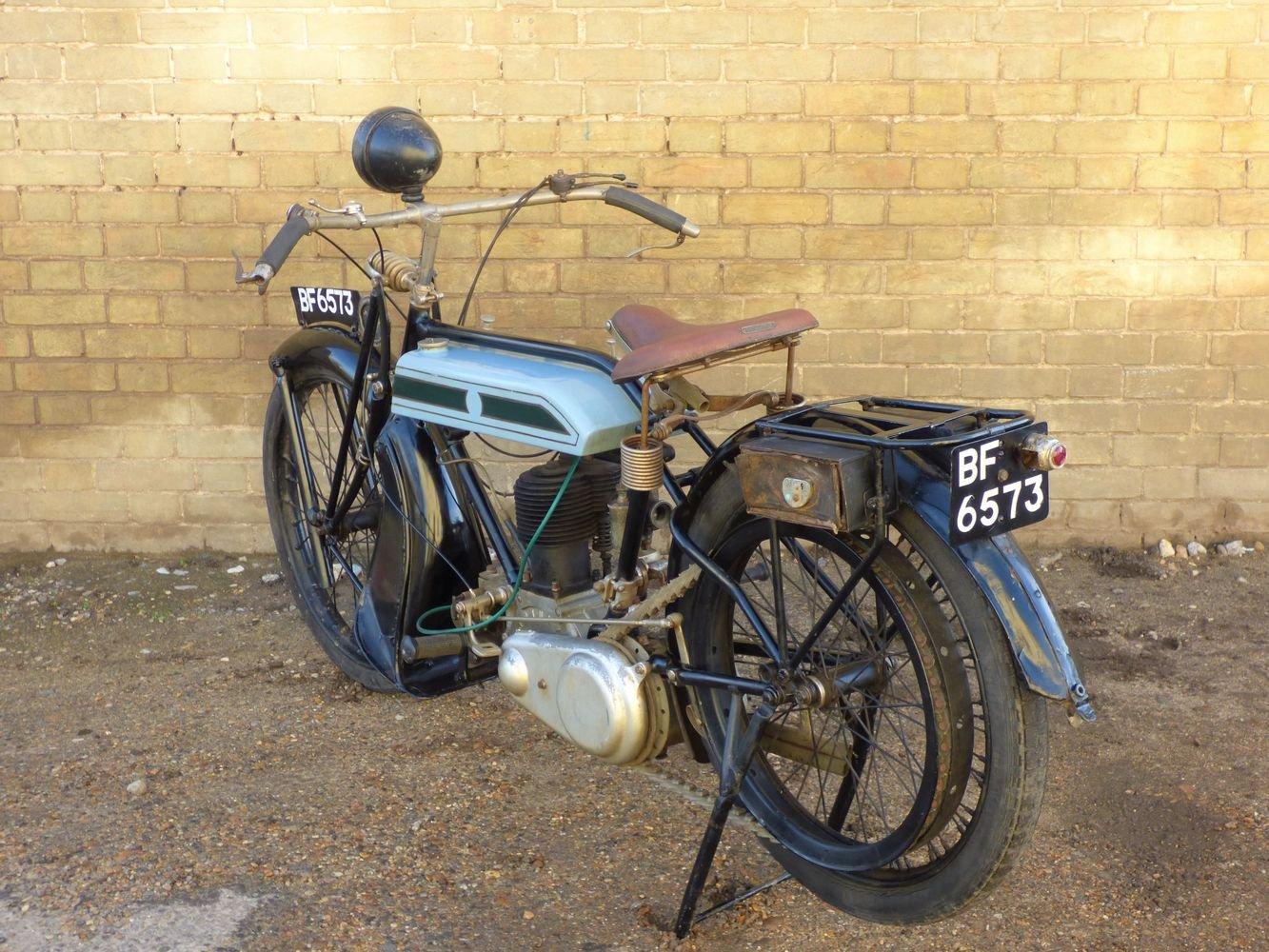 1924 Triumph Model H 550cc SOLD (picture 5 of 6)