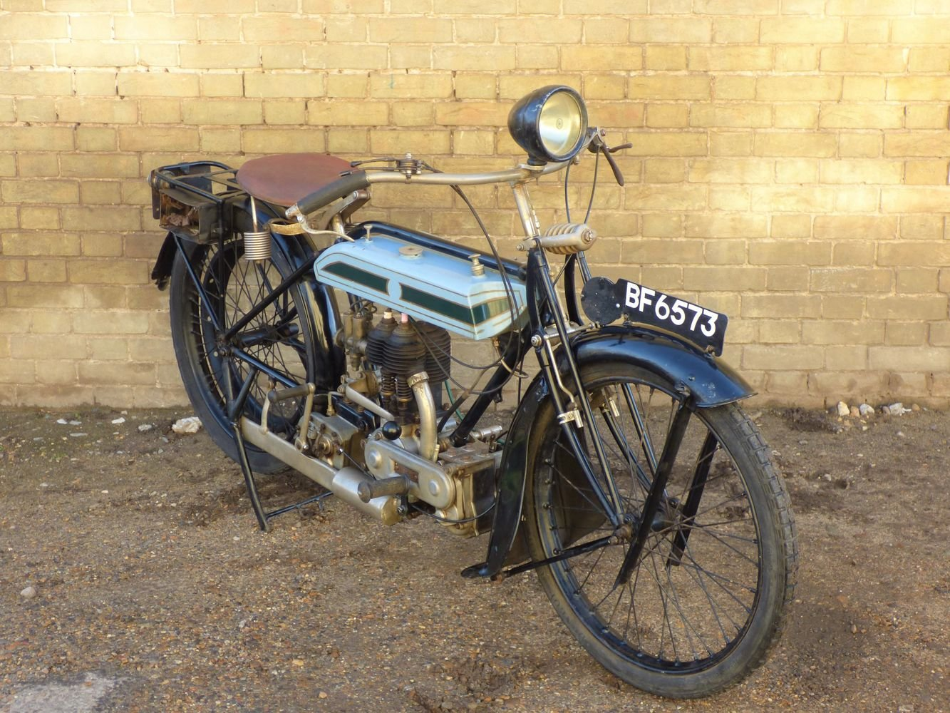 1924 Triumph Model H 550cc SOLD (picture 6 of 6)