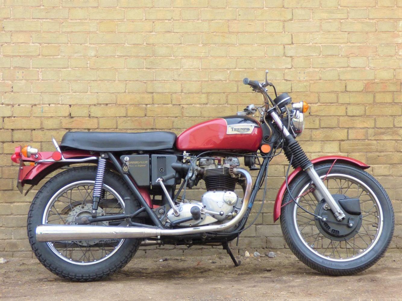 1972 Bonneville T120R Morgo 750cc SOLD (picture 1 of 6)