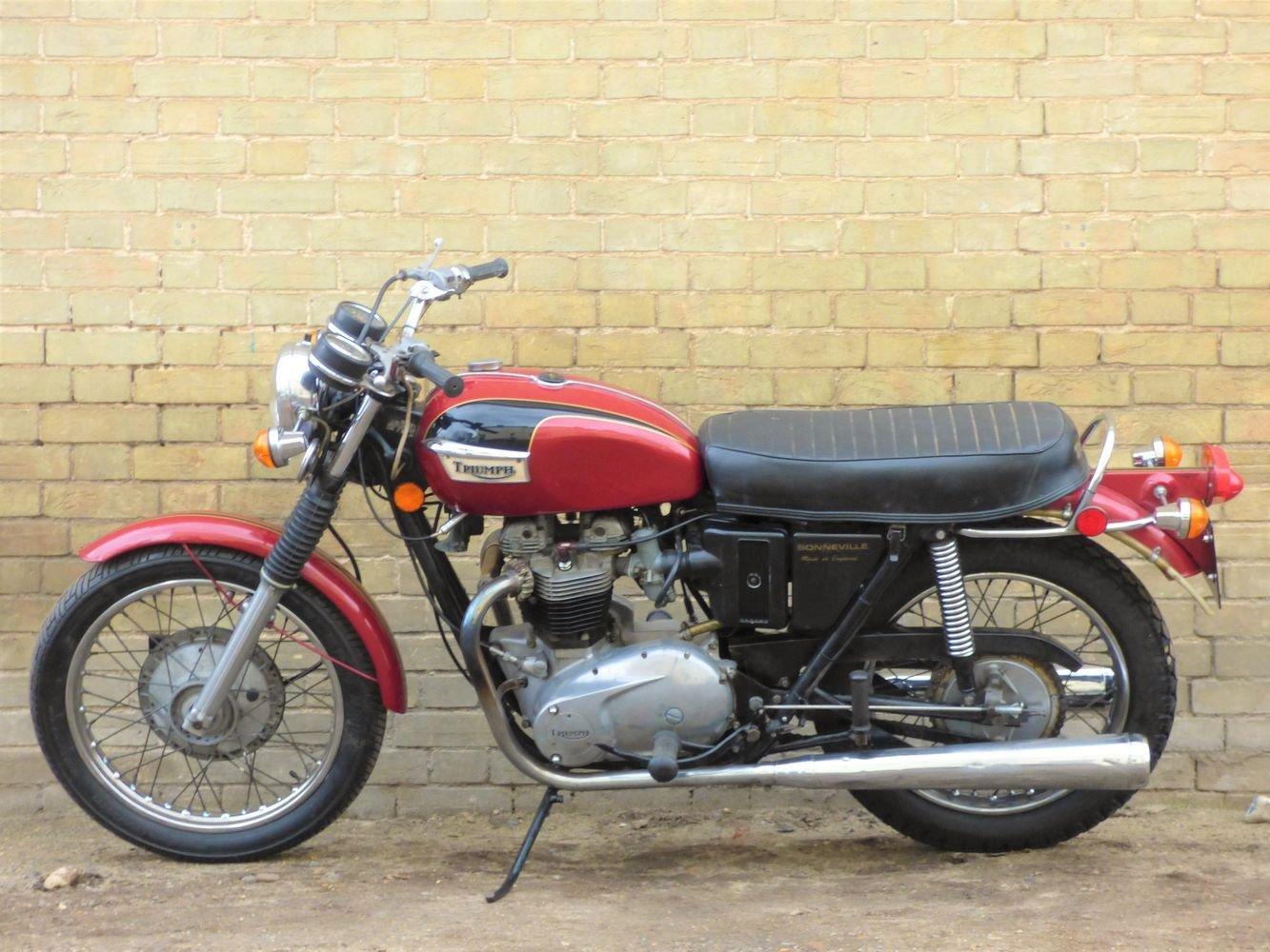 1972 Bonneville T120R Morgo 750cc SOLD (picture 2 of 6)