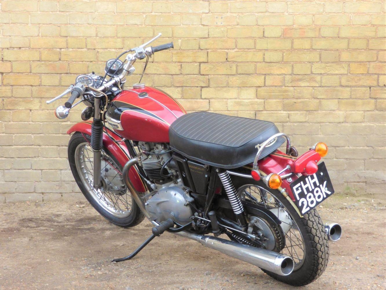 1972 Bonneville T120R Morgo 750cc SOLD (picture 5 of 6)