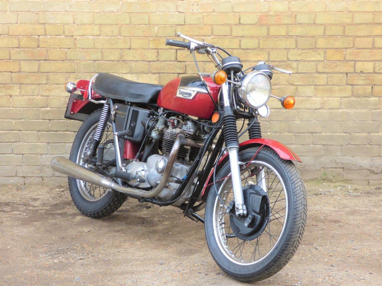 1972 Bonneville T120R Morgo 750cc SOLD (picture 6 of 6)
