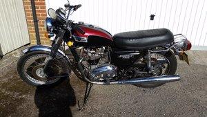 1979 Triumph T140E 750 Export Bonneville