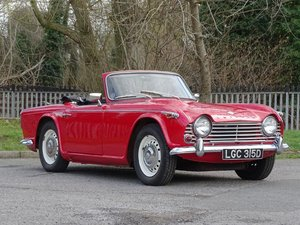 1966 Triumph TR4A IRS For Sale by Auction