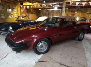 1982 TR7 CONVERTIBLE IMMACULATE LOW MILEAGE EXAMPLE