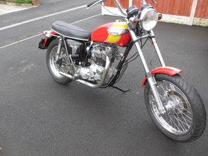 1970 Triumph Tiger Custom For Sale