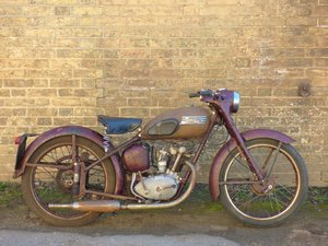1955 Triumph T15 Terrier 150cc SOLD