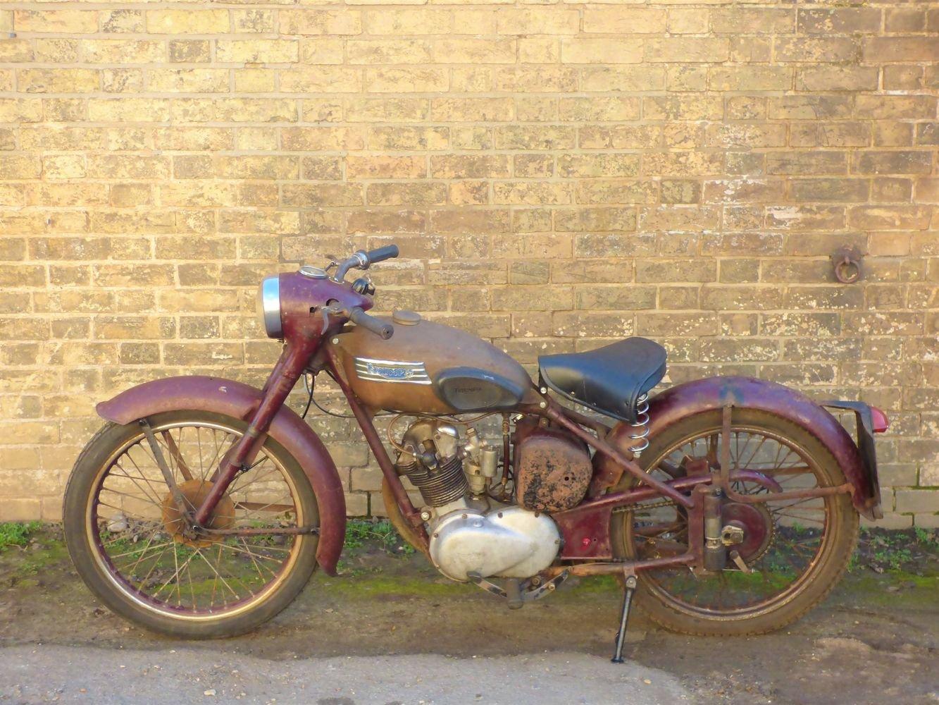 1955 Triumph T15 Terrier 150cc SOLD (picture 2 of 6)