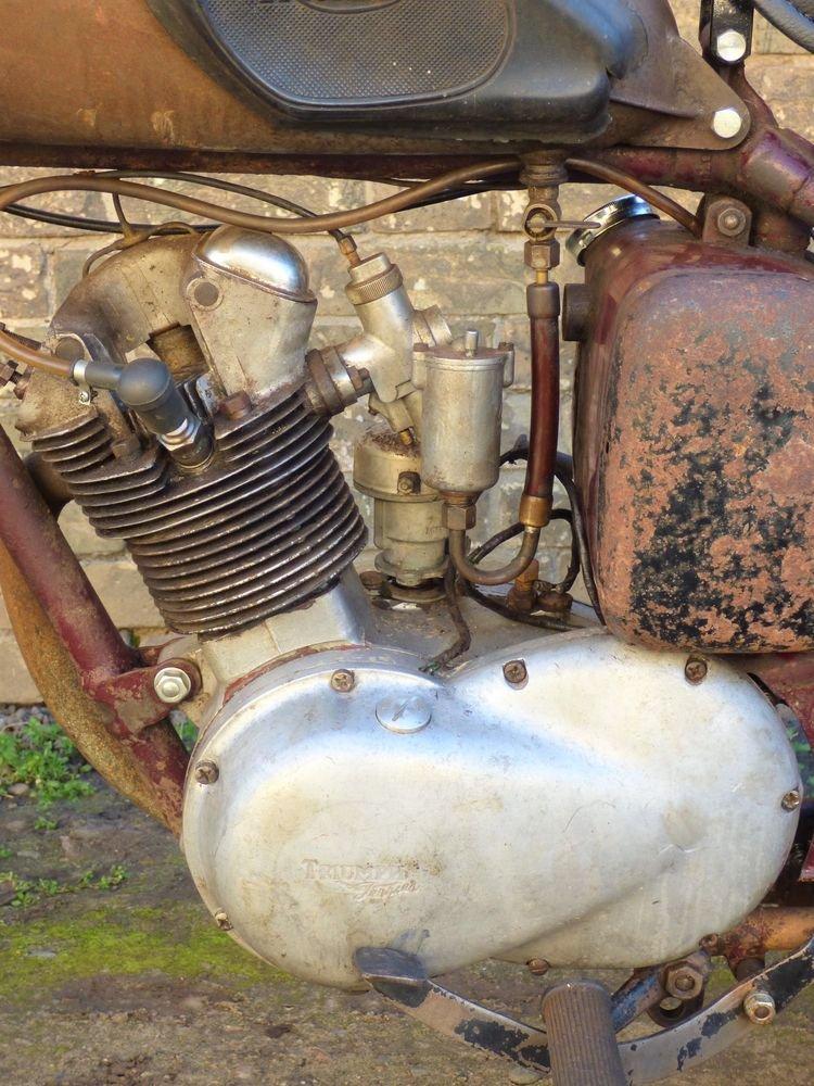 1955 Triumph T15 Terrier 150cc SOLD (picture 4 of 6)