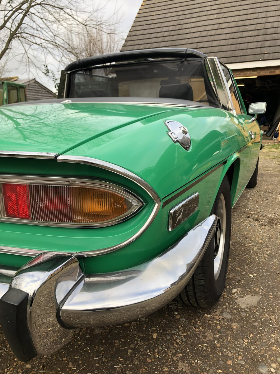 1978 Triumph Stag  For Sale (picture 4 of 6)