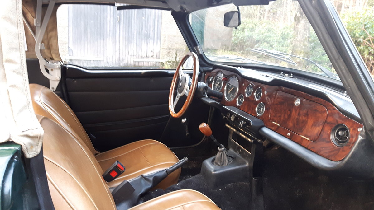 1972 Triumph TR6 British Racing Green For Sale (picture 2 of 6)