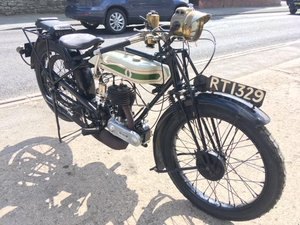 **MARCH AUCTION** 1925 Triumph Model P 350