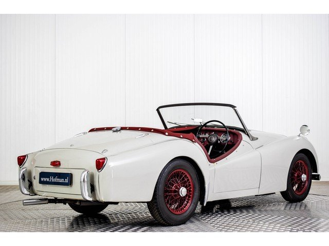 1955 Triumph TR2 Small Mounth RHD For Sale (picture 2 of 6)