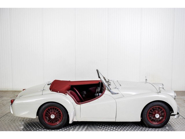 1955 Triumph TR2 Small Mounth RHD For Sale (picture 5 of 6)