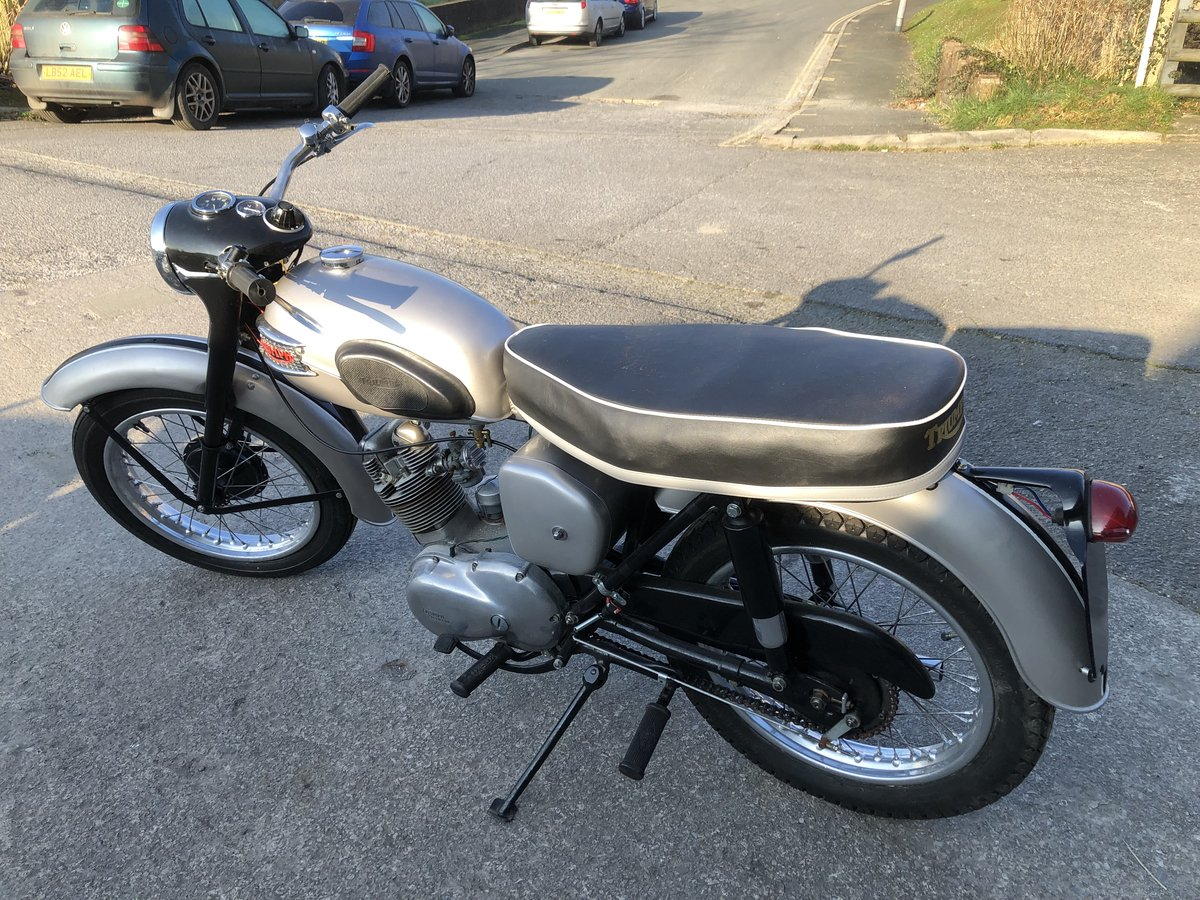 TRIUMPH T20 TIGER CUB MANUFACTURED 1959 IDEAL PROJECT For Sale (picture 3 of 6)