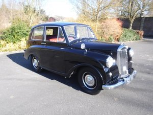 **REMAINS AVAILABLE**1952 Triumph Mayflower SOLD by Auction
