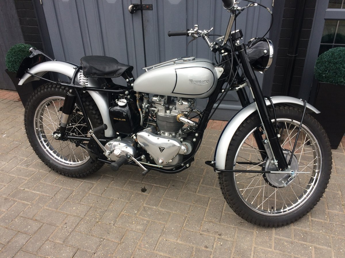1951 TRIUMPH TROPHY TR5  For Sale (picture 1 of 6)