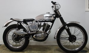 1963 riumph TR20 Tiger Cub  Genuine Trials Cub Excellent  SOLD