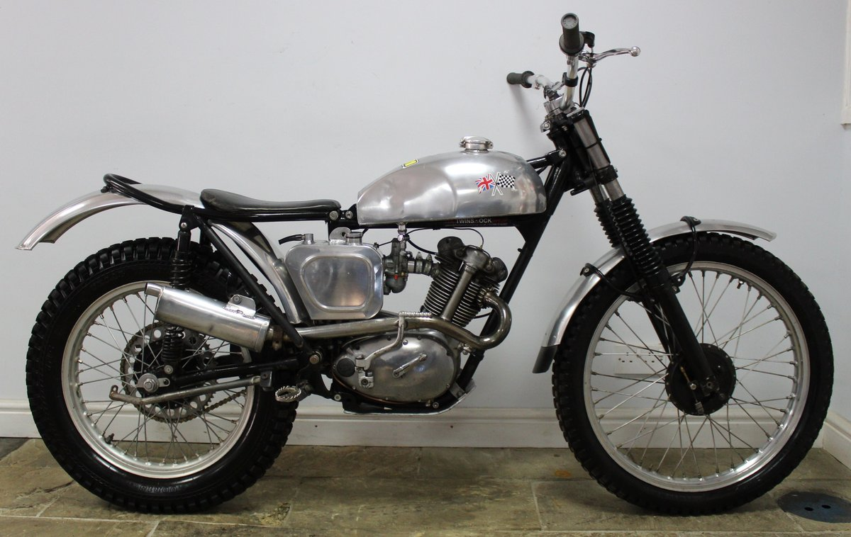 1960 Triumph T20 Tiger Cub Trials , Excellent condition SOLD (picture 1 of 6)