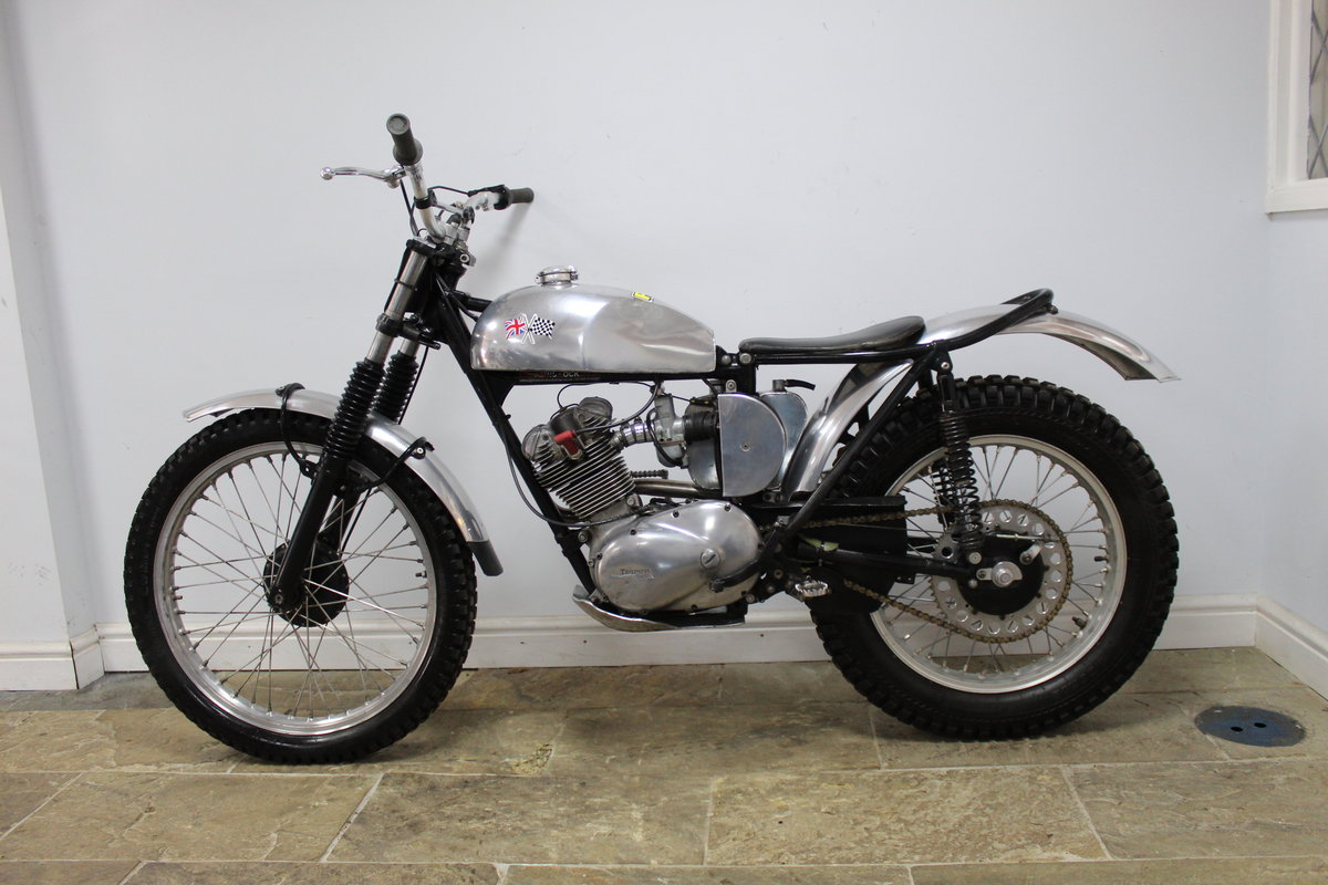 1960 Triumph T20 Tiger Cub Trials , Excellent condition SOLD (picture 5 of 6)
