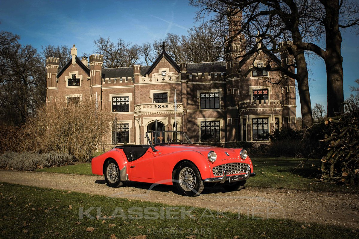 1958 Beautiful Triump TR3A in very good condition For Sale (picture 1 of 6)
