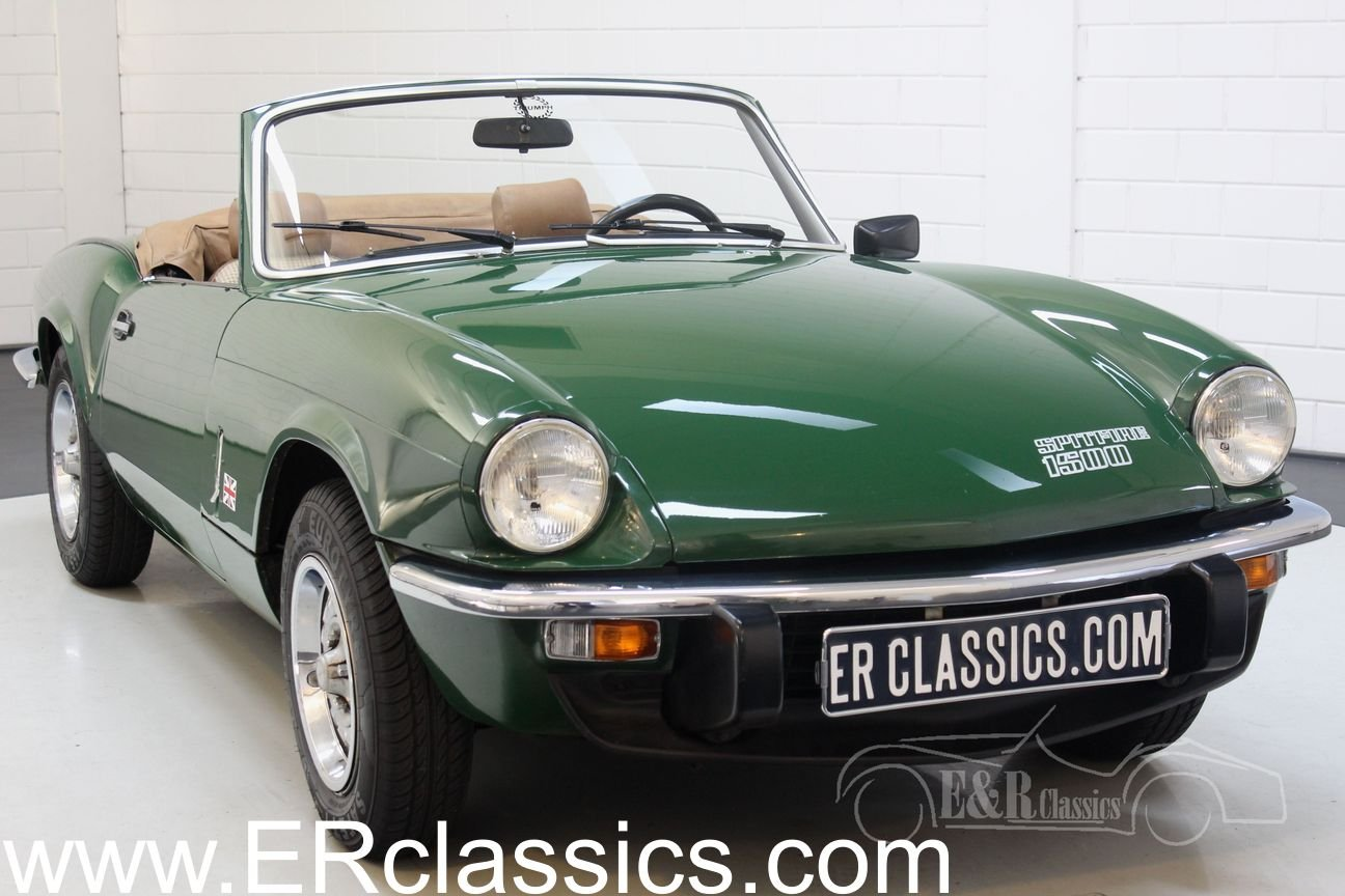 Triumph Spitfire 1500 Cabriolet 1981 British Racing Green For Sale (picture 1 of 6)