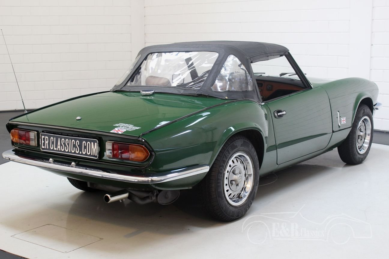 Triumph Spitfire 1500 Cabriolet 1981 British Racing Green For Sale (picture 6 of 6)
