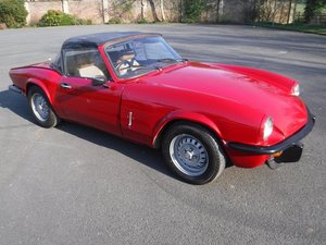 **MARCH AUCTION**1979 Triumph Spitfire SOLD by Auction