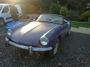 1968 MK3 Spitfire for restoration For Sale
