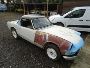 1966 MK2 Triumph Spitfire, part restored, most welding done For Sale