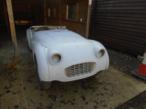 1958 Triumph TR3 small mouth disc brake car overdrive