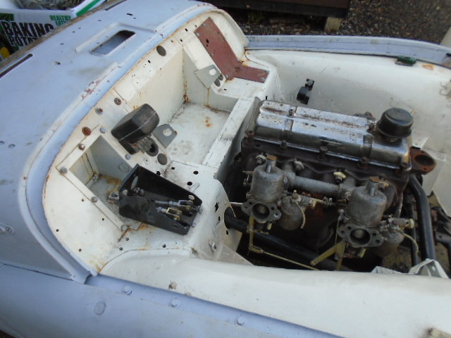 1958 Triumph TR3 small mouth disc brake car overdrive For Sale (picture 2 of 6)
