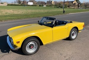 1974 Triumph TR6 restored For Sale by Auction