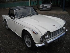 1966 Triumph TR4a Surrey Top For Sale