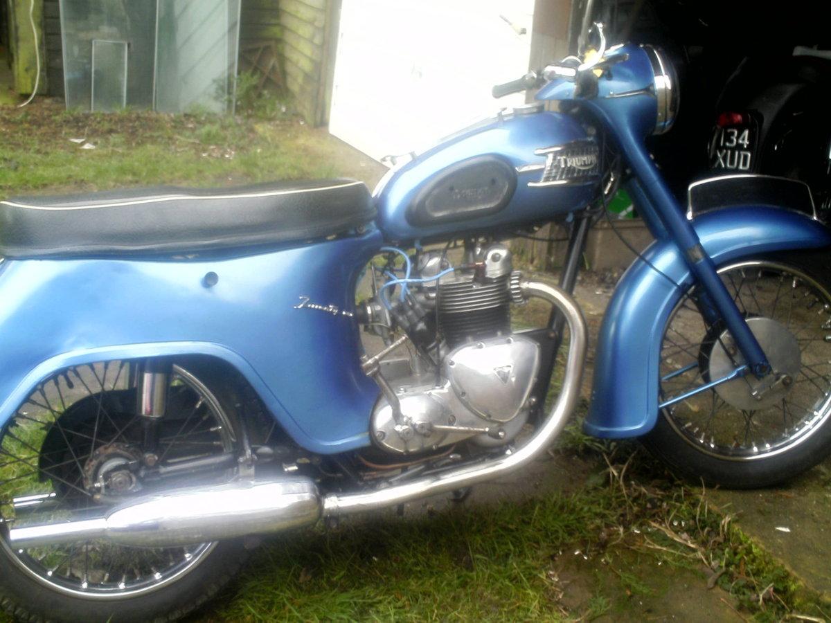 1961 TRIUMPH  21  3TA For Sale (picture 1 of 6)