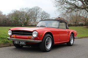 Triumph TR6 1972 - To be auctioned 26-04-19 For Sale by Auction