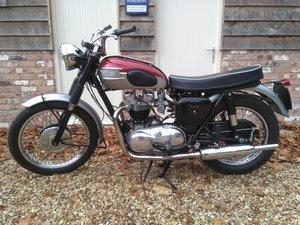 Triumph Bonneville T120 Pre Unit 1962