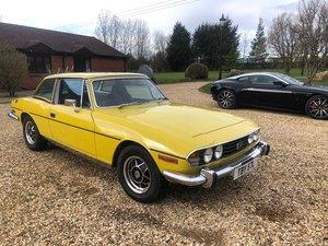1973 fully restored Triumph Stag 3L auto For Sale