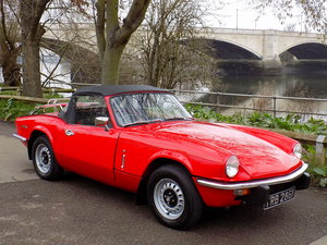 1972 Triumph Spitfire MK1V Convertible - Restored SOLD