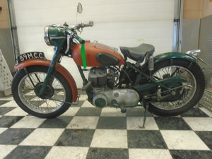 1952 Triumph TRW 500 Pre-Unit Running Project Bike