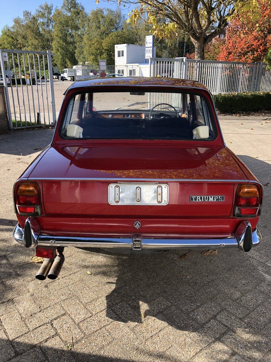 1968 TRIUMPH MK1 2000CC 6CYL. For Sale (picture 4 of 6)