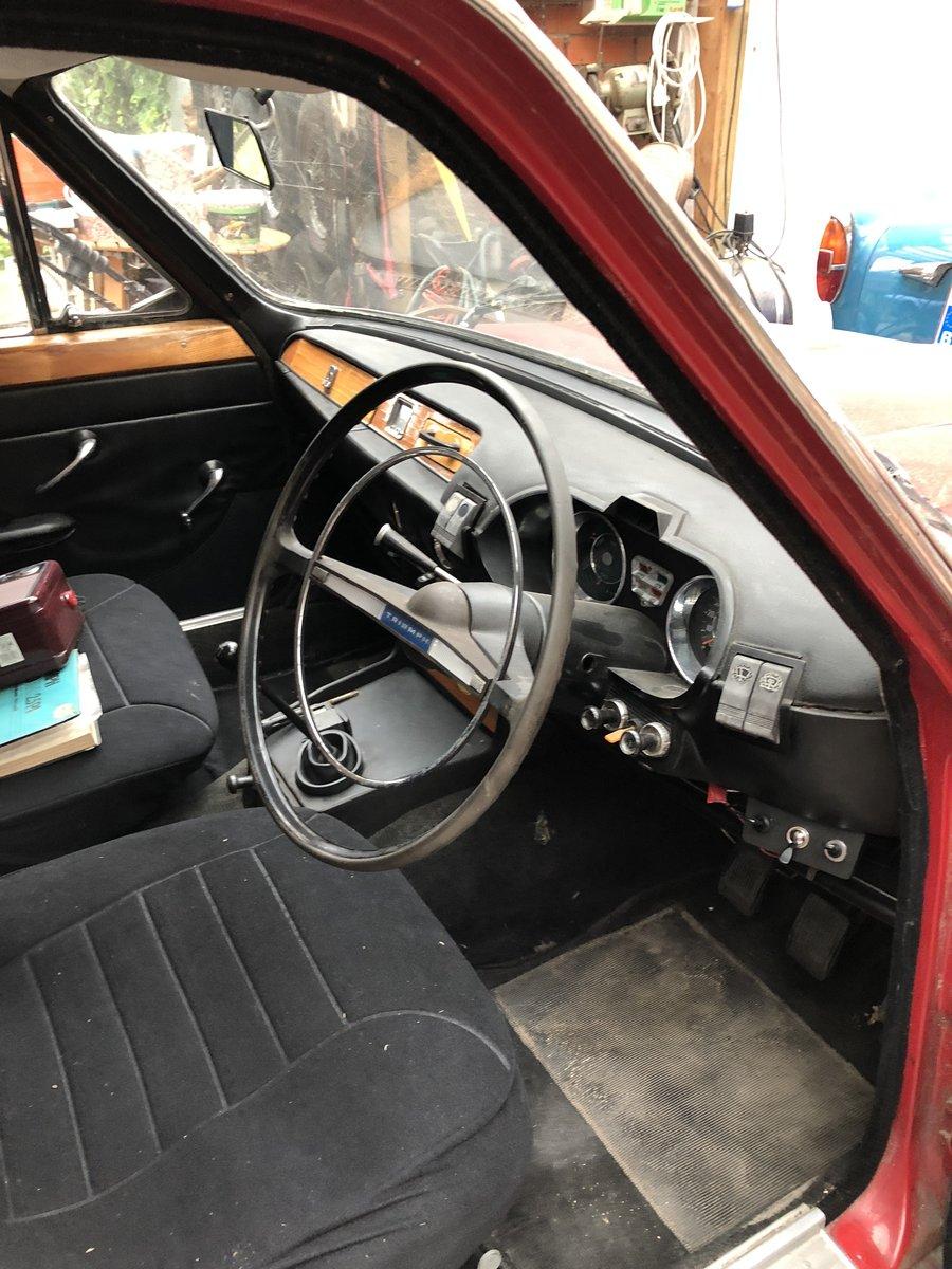 1968 TRIUMPH MK1 2000CC 6CYL. For Sale (picture 5 of 6)