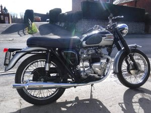 **MARCH AUCTION**1964 Triumph Tiger 90 SOLD by Auction